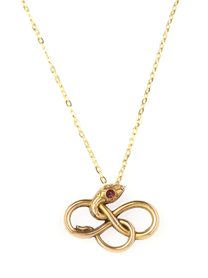D. Jo Jewelry Ever After Necklace Serpent Jewelry